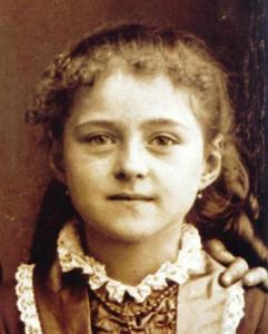 St. Therese as a Child