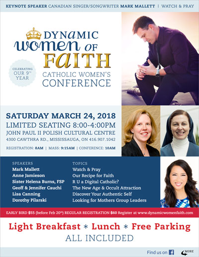 Dynamic Women of Faith Conference 2018