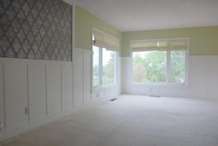 Living Room - board & batten