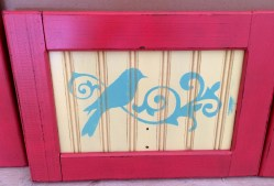 Painted with DIY Chalk Paint