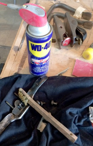 WD-40 & wire