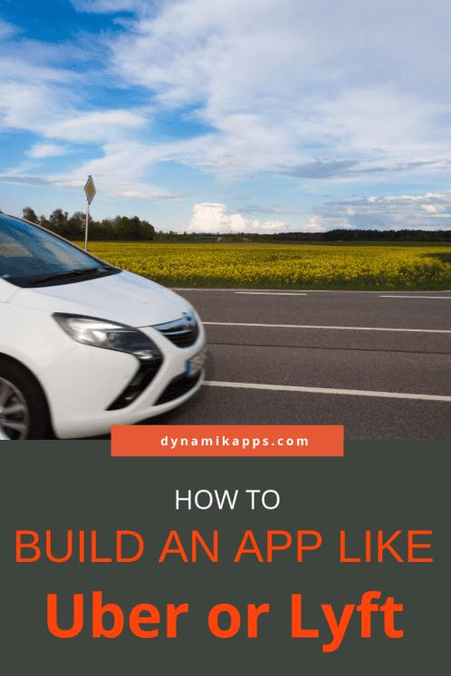 how to build uber lyft app