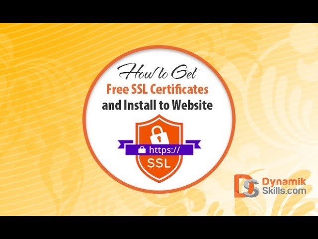 How to Get Free SSL Certificates and Install to Website