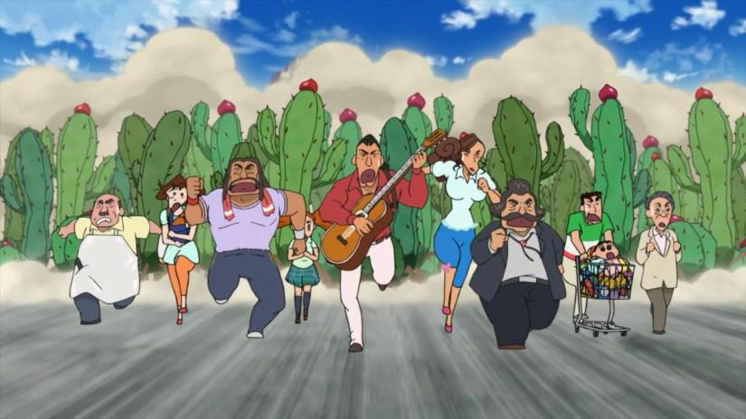 Episode 239 – Crayon Shin-chan – My Moving Story – Cactus Attack!