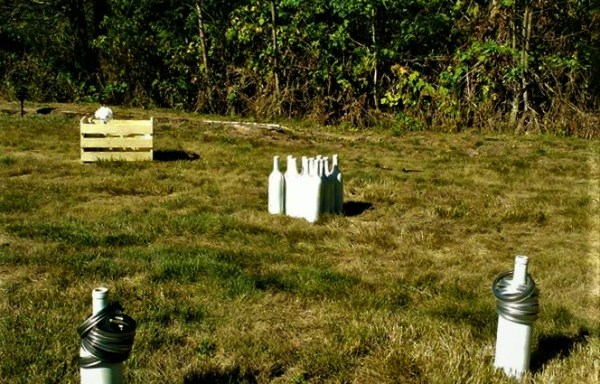 Rustic Ring Toss Lawn Game