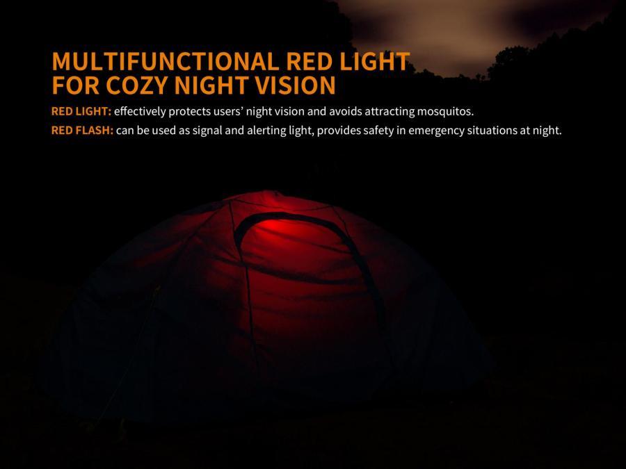 Praktický prenosný LED lampáš Fenix CL23