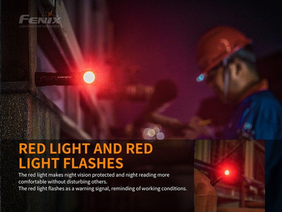 Nabíjacia LED čelovka Fenix HM61R Amber