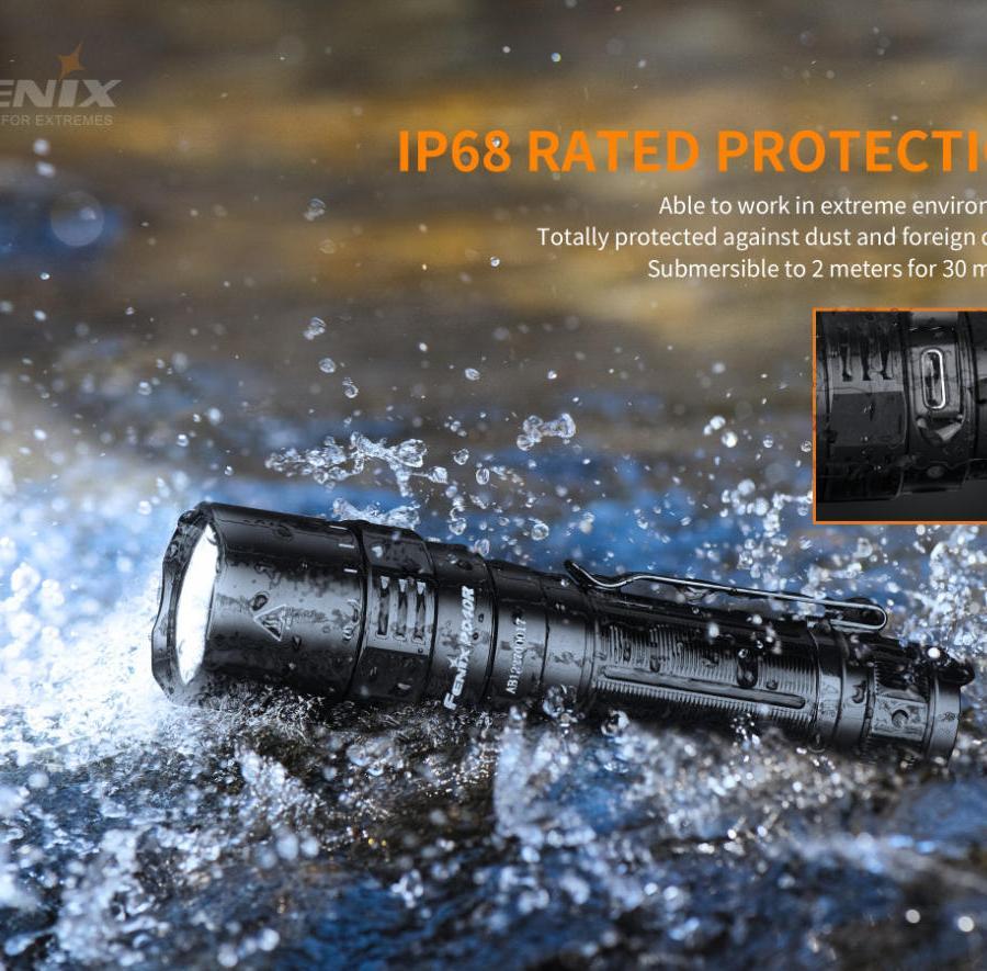 Nabíjacia LED baterka Fenix PD40R V2.0 18