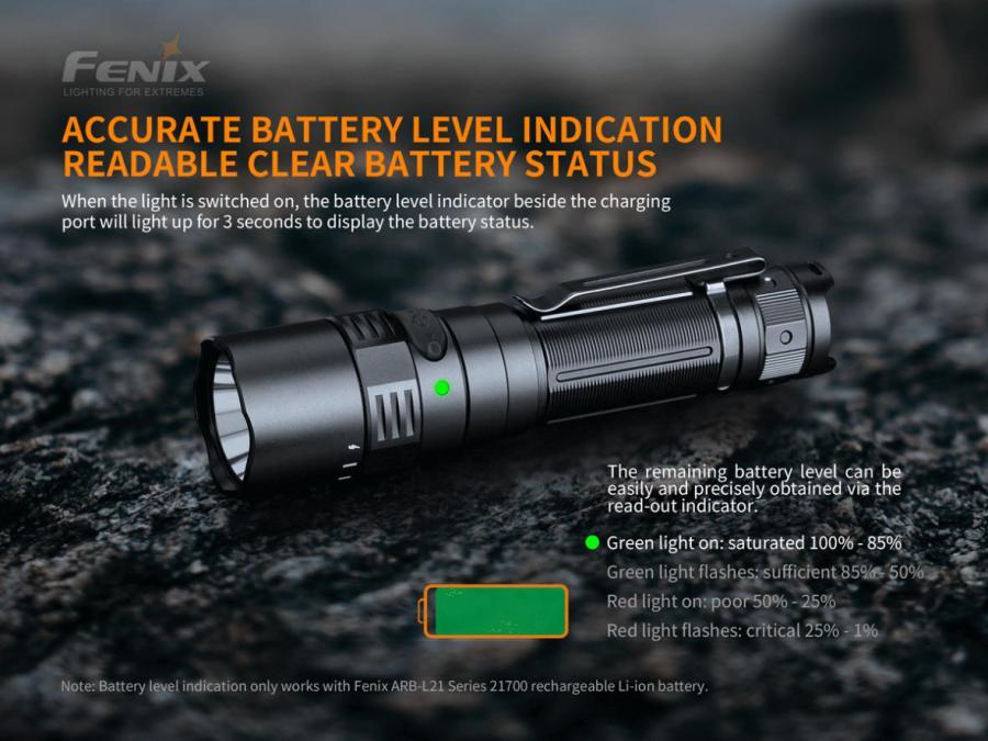 Nabíjacia LED baterka Fenix PD40R V2.0 10