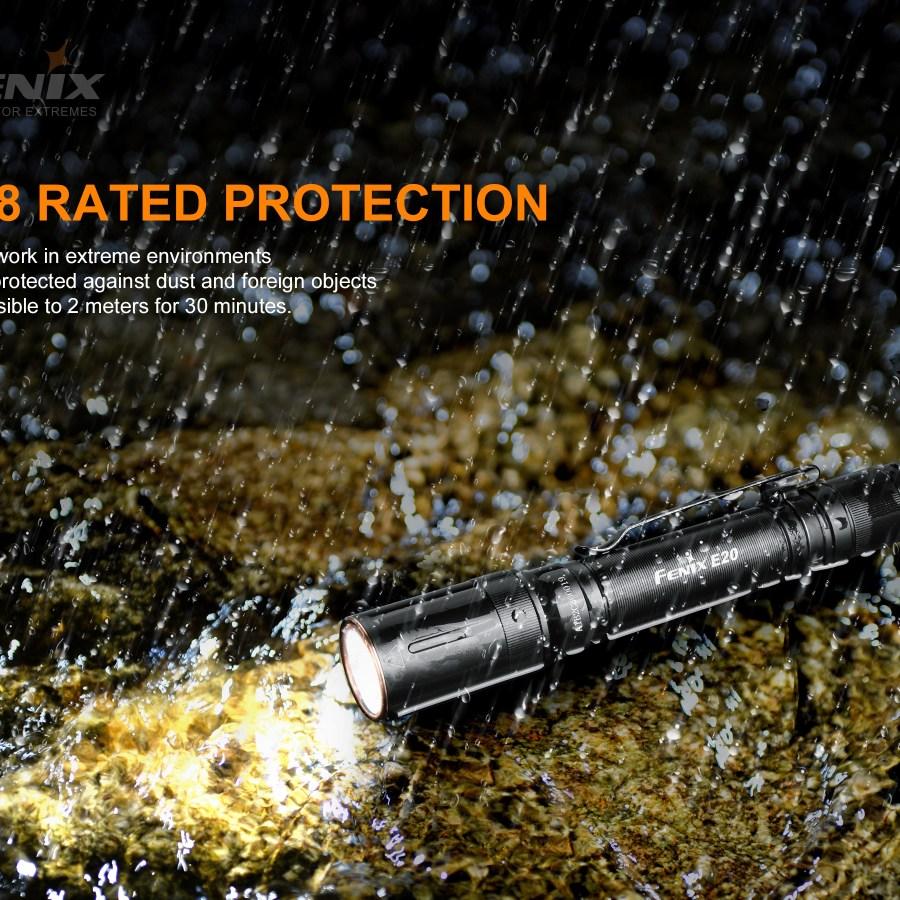 LED baterka Fenix E20 V2.0