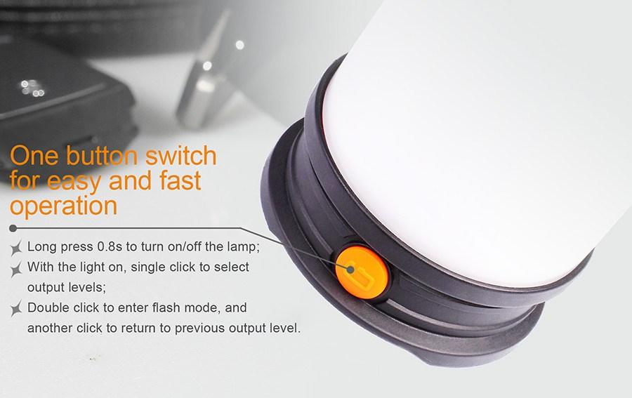 Nabíjací LED lampáš Fenix CL30R