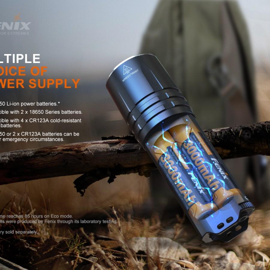 Taktická LED baterka Fenix TK35UE V2.0
