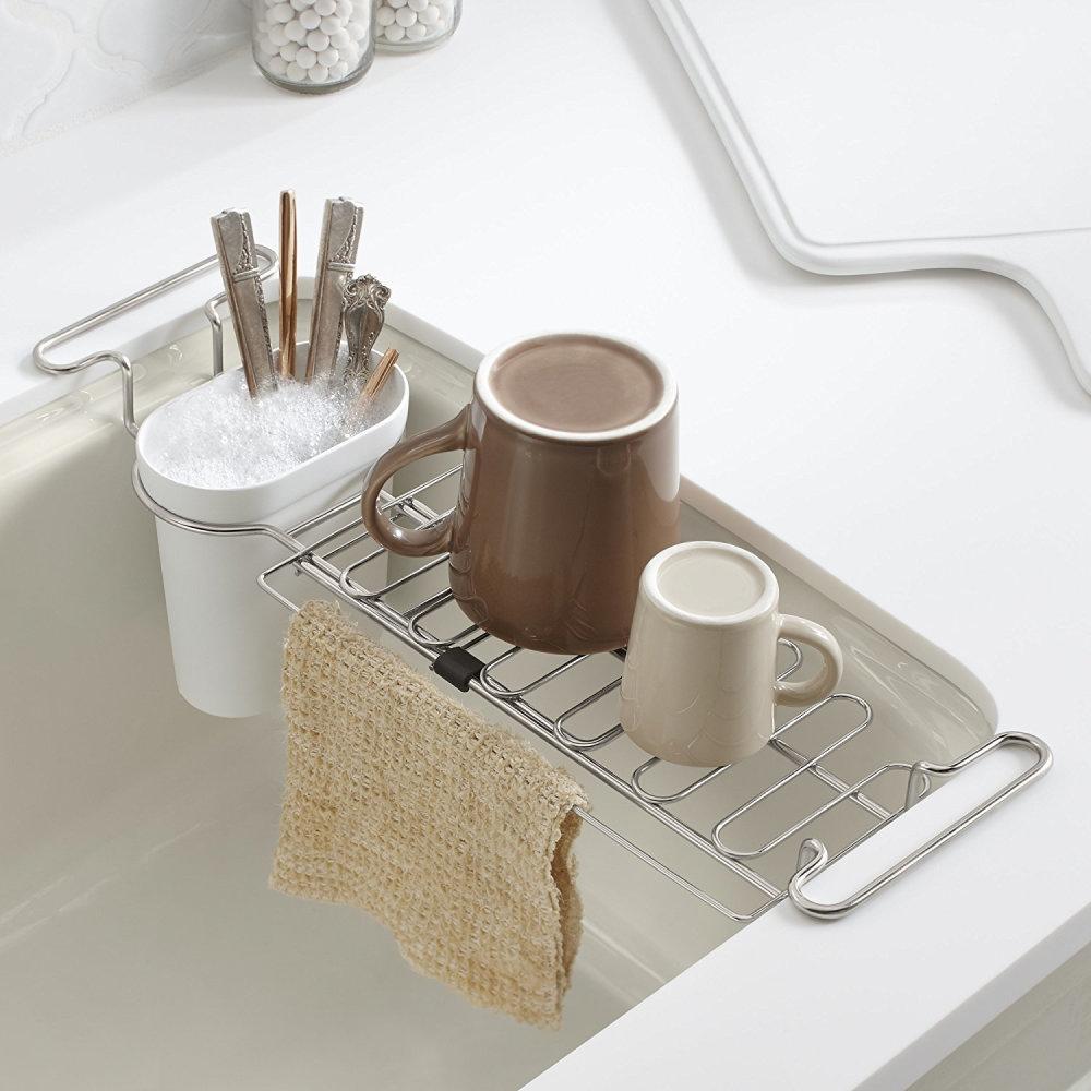 kohler kitchen sink utility rack