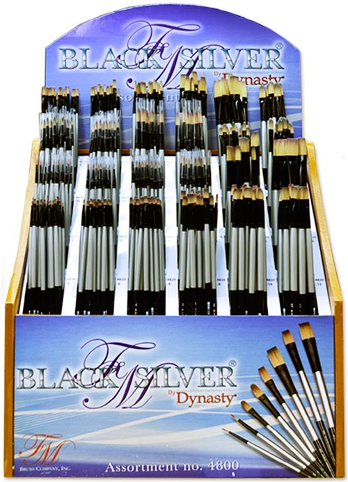 Black Silver Assortment