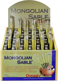 Mongolian Sable Assortment