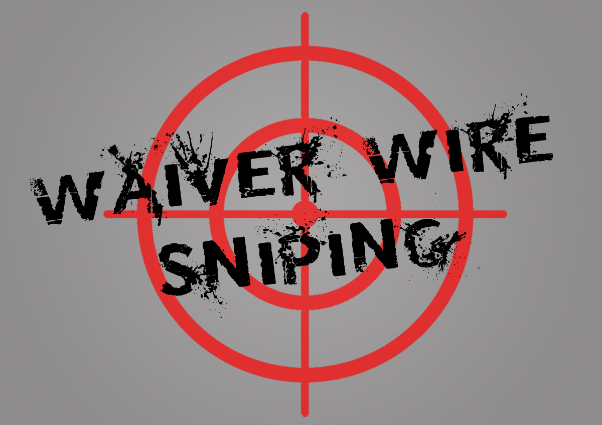 Waiver Wire Sniping. Week 16 Fantasy Football waiver wire sniping
