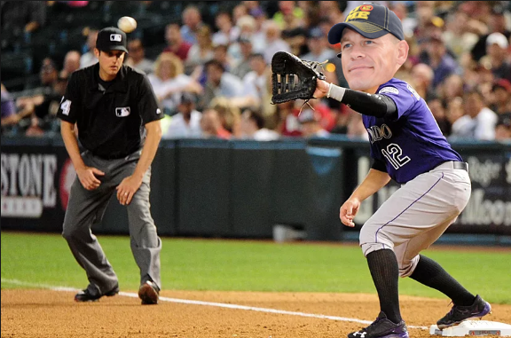 "Rockies 1B ""Trade"": Hustle Loyalty Respect 