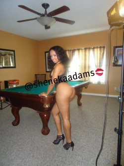 Sheneka Adams: Behind the scenes for Sweets Magazine