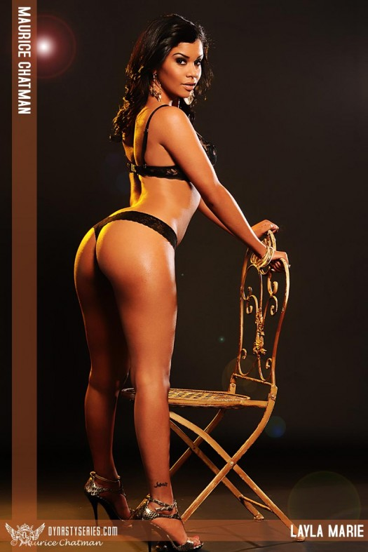 Layla Marie: Golden Pt 2 - courtesy of Maurice Chatman