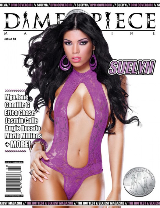 Suelyn: on the cover of DPM and Behind The Scenes