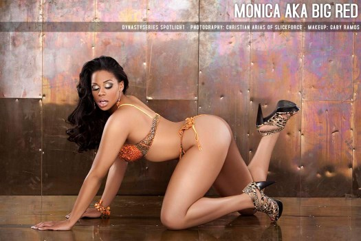 DynastySeries Spotlight: Monica aka Big Red - courtesy of Christian Arias of SlickforceStudio