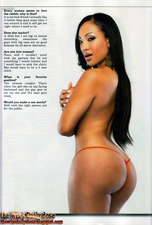 Milan Kimble in Sweets - courtesy of Charles Black - scans by WizsDailyDose