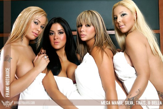 Thais Wong, Bella, Silva, and Mega Mamii: All Together Now - courtesy of Frank Hotsauce