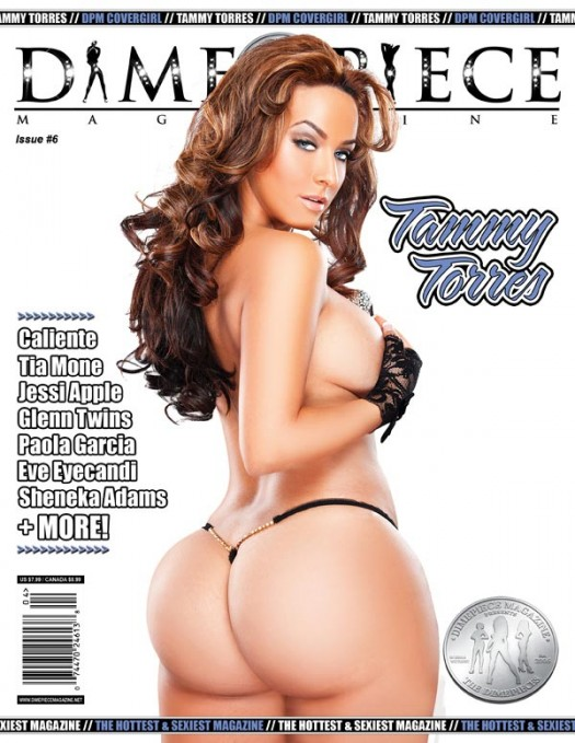 Tammy Torres on the cover of the next issue of Dimepiece