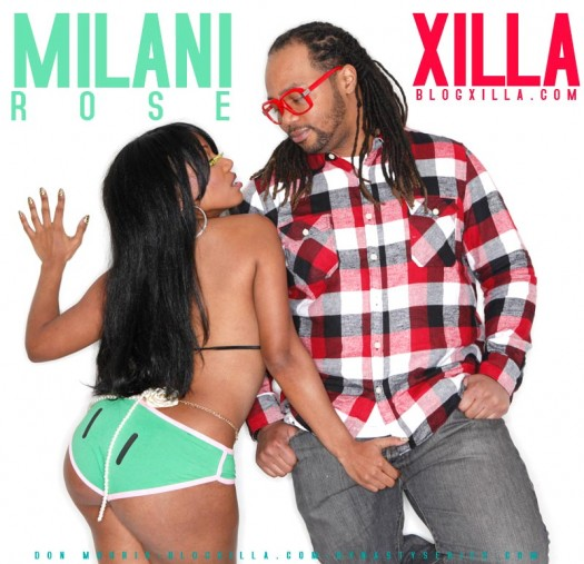Xilla of BlogXilla.com Brings in the holidays with Miliani Rose and Jael Lima