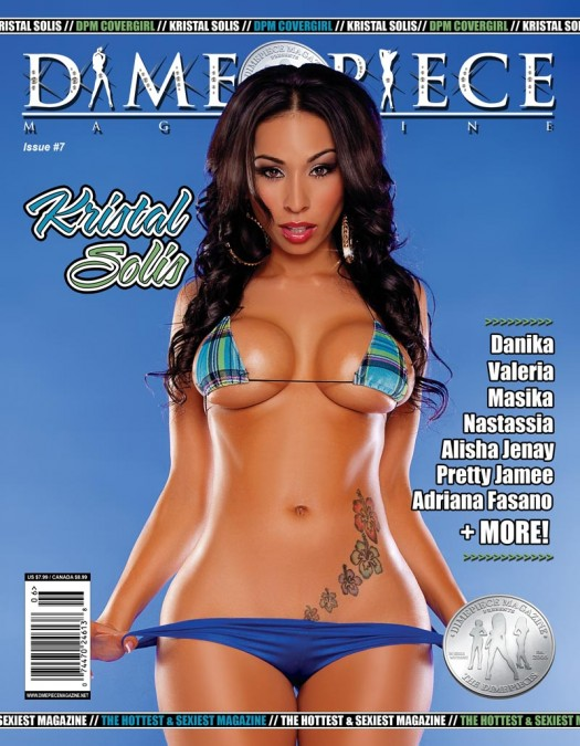 Kristal Solis on the next cover of Dimepiece Magazine