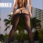 Kimmy Maxx Featured Model in Mixed Magazine
