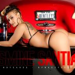More Pics of Jasmine Santiago: Red Bentley - courtesy of Frank Hotsauce and Titlion Lingerie