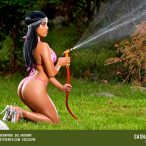 More Pics of Sasha DelValle: Water Works - courtesy of Del Anthony and Artistic Curves