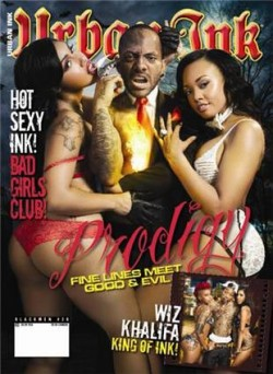 Vanessa Veasley and Kitti Kouture on the cover of Urban Ink
