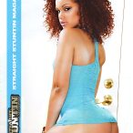 Achonti Shanise in latest issue of Straight Stuntin