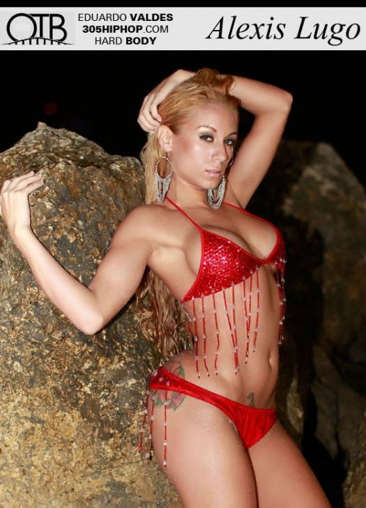 Alexis Lugo is June Hard Body Model of the Month - courtesy of OTB Photography
