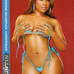 Jazzie Belle in the latest issue of Straight Stuntin - courtesy Facet Studio