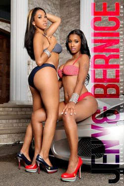 Bernice Burgos and Jeny Romero