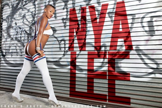 Nya Lee: Wild Style - courtesy of Frank D Photo