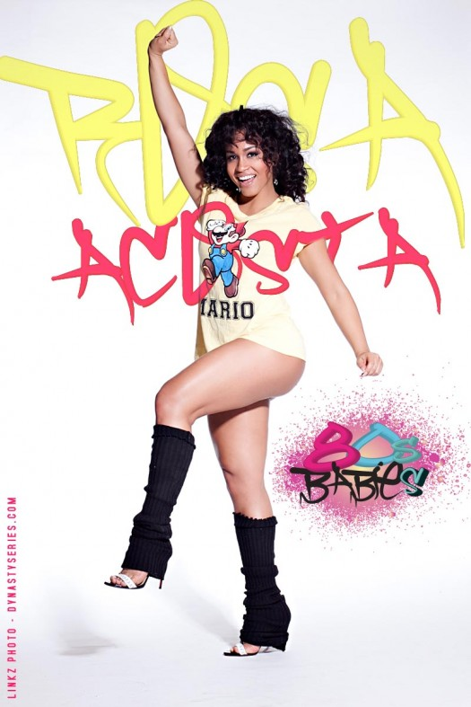 80s Babies: Rosa Acosta - Super Mario Bros. 3 - courtesy of Linkz Photo