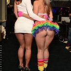 Kristina Rose and Jada Stevens at Exxxotica NY - courtesy of Jose Guerra