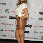 Raya Reaves at Risque Curves Private Release Party - courtesy of Skorpion Entertainment
