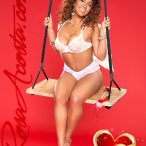 Happy Valentine's with Rosa Acosta - courtesy of Jose Guerra