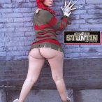 Mizz DR @MizzDR in latest issue of Straight Stuntin