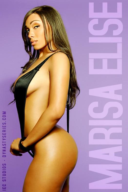 More Pics of Marisa Elise @MsMarisaElise: Purple Swag - IEC Studios