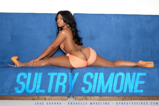 Sultry Simone @IamSultrySimone: Sexy As Silk - Jose Guerra - Arabelle Modeling