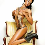 Jasmine Adams @jazzybaby03 in Blackmen Magazine