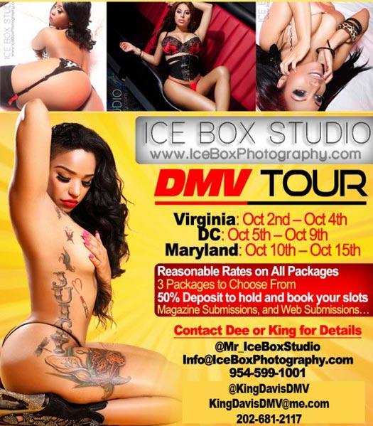 Sidney Dean @sidneydean - Ice Box Studio - in DMV Oct 2nd - 15th