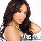 Yaris Sanchez @Yaris_Sanchez  in Black Lingerie - Magazine Scans
