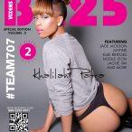 Khalilah Patra @khalilahpatra on cover of BX25 Magazine